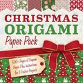 Christmas Origami Paper Pack : 500+ Sheets of Origami Paper Plus Instructions for 3 Festive ...