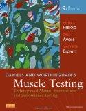 Daniels and Worthingham's Muscle Testing: Techniques of Manual Examination and Performance T...