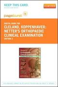Netter's Orthopaedic Clinical Examination - Pageburst e-Book on VitalSource (Retail Access C...