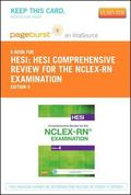 HESI Comprehensive Review for the NCLEX-RN Examination - Pageburst e-Book on VitalSource (Re...