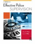 Effective Police Supervision