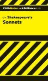 Shakespeare's Sonnets, 1st Edition (Cliffs Notes Series)