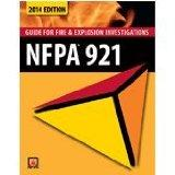 NFPA 921 Guide for Fire & Explosion Investigations 2014