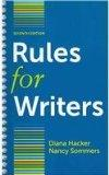 Rules for Writers 7E & Resources for Multilingual Writers and ESL