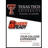 Your College Experience: Strategies for Success Te