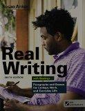 Real Writing With Readings 6th Ed. + Writing Class Solo Six Month Access Card