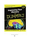 Improving Your Memory for Dummies^ (Volume 2 of 2) (EasyRead Super Large 18pt Edition)