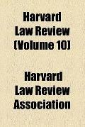 Harvard Law Review (v. 10)
