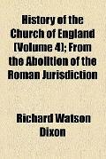 History of the Church of England (v. 4)