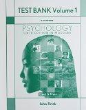 Printed Test Bank for Psychology in Modules