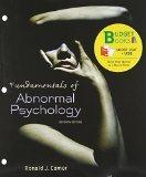 Fundamentals of Abnormal Psychology (Loose Leaf) (Budget Books)