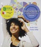 Loose-leaf Version for Psychology in Everyday Life & LaunchPad 6 month access card (Budget B...