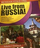 Live from Russia! Volume 2 Textbook (Russian Stage One)