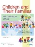 Children and Their Families: The Continuum of Care