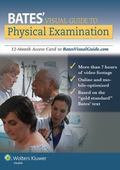 Bates' Visual Guide to Physical Examination: 12-Month Access Card to BatesVisualGuide.com