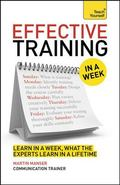 Effective Training in a Week: Teach Yourself : Book