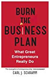 Burn The Business Plan [Paperback] Carl J. Schramm