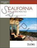 California Real Estate Practice - 8th Edition Update