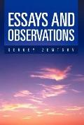 Essays and Observations