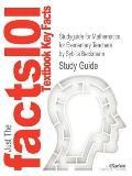 Studyguide for Mathematics for Elementary Teachers by Sybilla Beckmann, Isbn 9780321646941