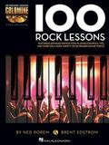 100 Rock Lessons : Keyboard Lesson Goldmine Series Book/2-CD Pack