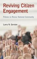 Reviving Citizen Engagement : Policies to Renew National Community