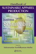 Handbook of Sustainable Apparel Production