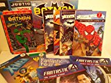 Superhero Pack for Boys: Dk Reader Batman; Meet the Heroes & Villains; How to Draw Justice L...