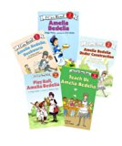 I Can Read Level 2 Books (8) : Amelia Bedelia Goes Camping - Merry Christmas Amelia Bedelia ...
