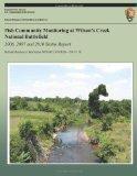 Fish Community Monitoring at Wilson's Creek National Battlefield- 2006, 2007 and 2010 Status...