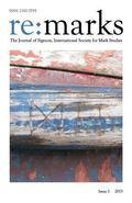 Re:marks 1 (2013): The Journal of Signum, International Society for Mark Studies (Volume 1)