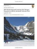 2009 Monitoring and Tracking Wet Nitrogen Deposition at Rocky Mountain National Park, Septem...