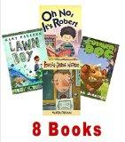 Book Sets for Kids: 4th Grade Weirdo; Is That a Dead Dog in Your Locker; Oh No It's Robert; ...