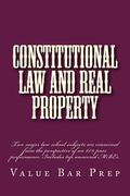 Constitutional Law and Real Property: Two major law school subjects are examined from the pe...