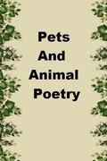 Pets and Animal Poetry
