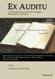 Ex Auditu - Volume 21: An International Journal for the Theological Interpretation of Scripture