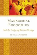 Managerial Economics : Tools For