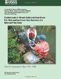 Contaminants in Stream Sediments from Seven U.S. Metropolitan Areas: Data Summary of a Natio...