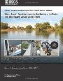 Water-Quality Conditions near the Confluence of the Snake and Boise Rivers, Canyon County, I...