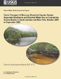 Fluvial Transport of Mercury, Dissolved Organic Carbon, Suspended Sediment, and Selected Maj...