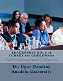 LEADERSHIP ROLE of TURKEY for UDEEEWANA