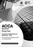 ACCA Corporate and Business Law (Global): Study Text