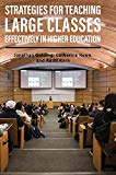 Strategies for Teaching Large Classes Effectively in Higher Education