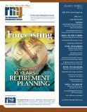 The Retirement Management Journal: Vol. 5, No. 2, Gala 10-Year Anniversary Issue