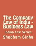 The Company Law of India - Business Law: Indian Law Series