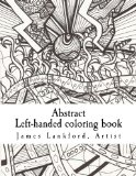 Abstract  Left-handed coloring book