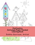 ZenCountry: A Zentangle Right-Handed Coloring Book