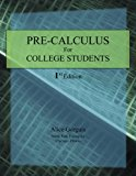 Pre-Calculus for College Students