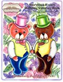A Storybook Event Wedding Coloring Book: Big Kids Coloring Book: LGBT Community - Groom Frie...