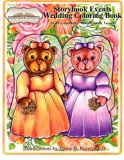 A Storybook Event Wedding Coloring Book: Big Kids Coloring Book: LGBT Community - Bride Frie...